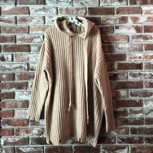 Zara knit tunic pullover Sz Medium